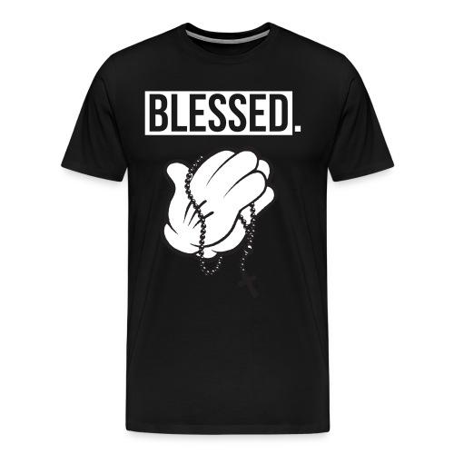 Blessed - MALE - Men's Premium T-Shirt