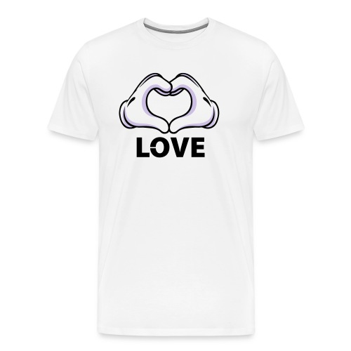 Love - MALE - Men's Premium T-Shirt