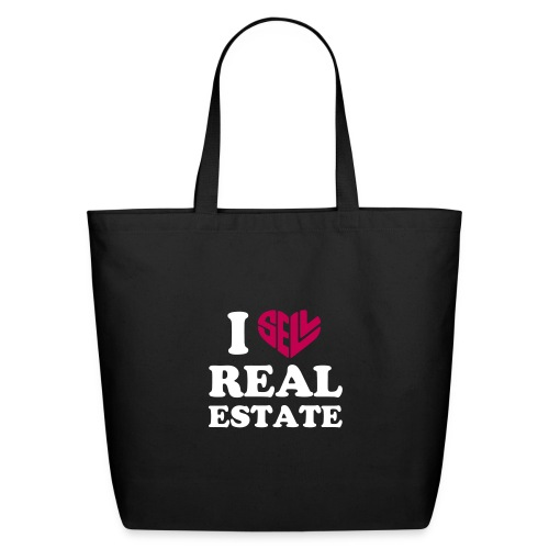 I Sell Real Estate - Eco-Friendly Cotton Tote
