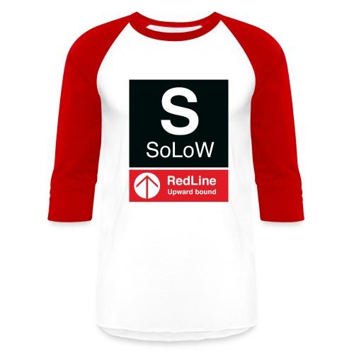 SoLoW RedLine Shirt - Baseball T-Shirt