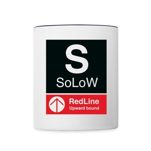 SoLoW RedLine Cup - Contrast Coffee Mug