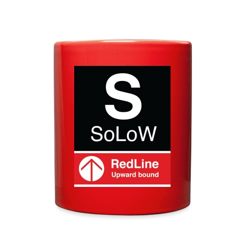 SoLoW RedLine Cup - Full Color Mug