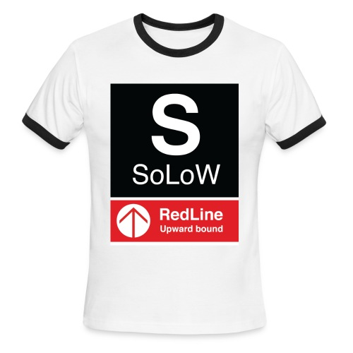 SoLoW RedLine Shirt - Men's Ringer T-Shirt