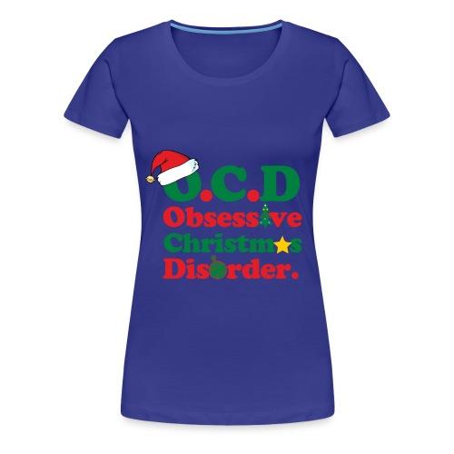 O.C.D Christmas - Women's Premium T-Shirt