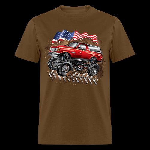 Mud Truck Ford Bronco Shirt - Men's T-Shirt