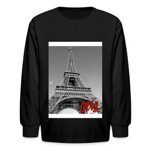 Eiffel Tower  - Kids' Long Sleeve T-Shirt