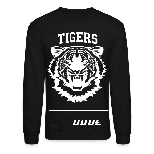 tiger head shirt - Crewneck Sweatshirt