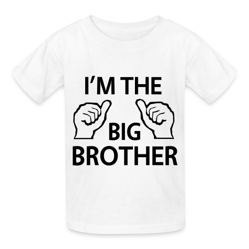 I'm the brother - Kids' T-Shirt