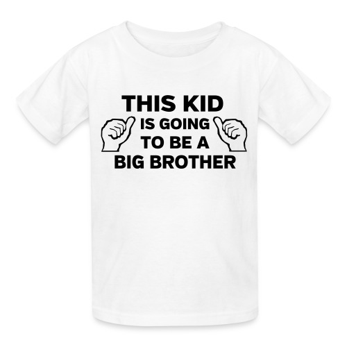 I'm going to be the big brother - Kids' T-Shirt