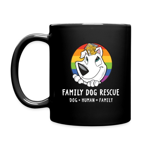 Family Dog Rescue Pride | Coffee & Tea Mug - Full Color Mug