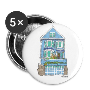 La Maison Bleue: Small Button 5 Pack - Small Buttons