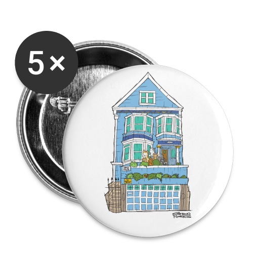 La Maison Bleue: Small Button 5 Pack - Small Buttons