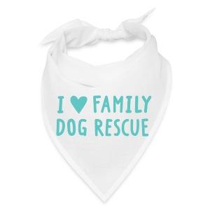 I Heart Family Dog Rescue: Bandana - Bandana