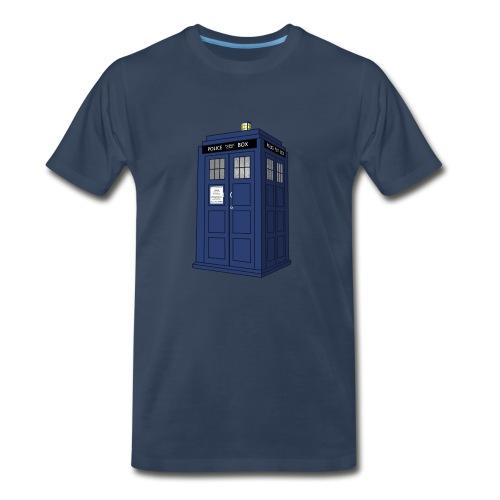 Police Call Box 3x-5x - Men's Premium T-Shirt