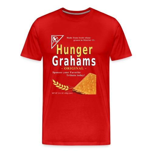 Hunger Grahams 3x-4x-5x - Men's Premium T-Shirt