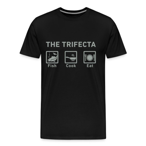 The Trifecta (Phat Edition) - Men's Premium T-Shirt