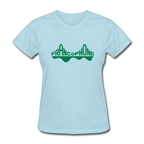Women's_sky blue/forest - Women's T-Shirt