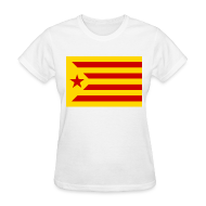 Women's T-Shirts ~ Women's T-Shirt ~ flag of catalonia Women's T-Shirts