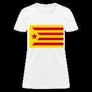 Women's T-Shirts ~ Women's T-Shirt ~ flag of catalonia Women's T-Shirts