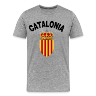 T-Shirts ~ Men's Premium T-Shirt ~ catalonia coat of arms T-Shirts