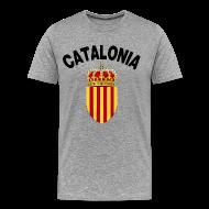 T-Shirts ~ Men's Premium T-Shirt ~ catalonia coat of arms T-Shirts
