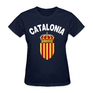 Women's T-Shirts ~ Women's T-Shirt ~ catalonia coat of arms Women's T-Shirts