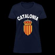 Women's T-Shirts ~ Women's T-Shirt ~ catalonia coat of arms Women's T-Shirts