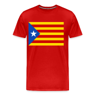 T-Shirts ~ Men's Premium T-Shirt ~ flag of catalunya T-Shirts