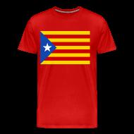 T-Shirts ~ Men's Premium T-Shirt ~ flag of catalunya T-Shirts