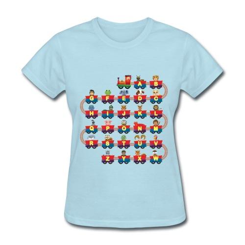Animal Train for women - Women's T-Shirt