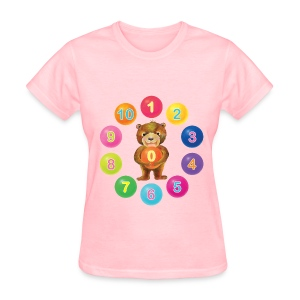 Number Bear for women - Women's T-Shirt
