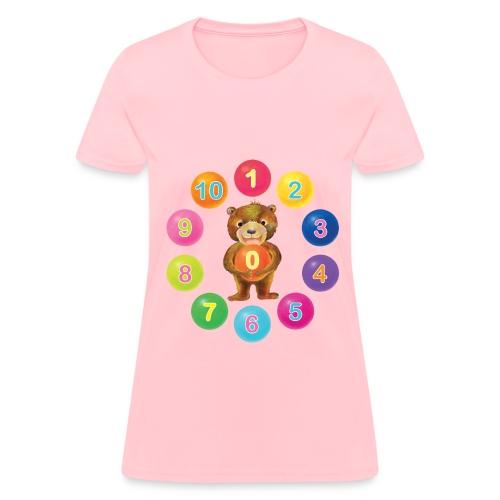 Number Bear for women - Women's T-Shirt