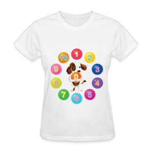 Number Dog for women - Women's T-Shirt