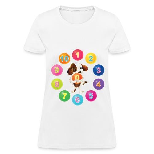 Number Dog for women - Women's T-Shirt