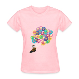 Alphabet Balloon Walrus for women - Women's T-Shirt