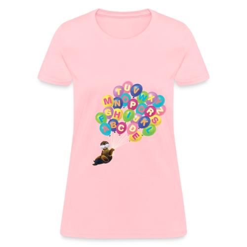 Alphabet Balloon Walrus for women - Women's T-Shirt
