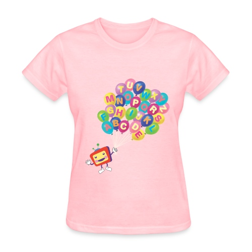 Alphabet Balloon ABCkidTV for women - Women's T-Shirt