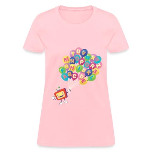 Alphabet Balloon ABCkidTV for women - Women's T-Shirt