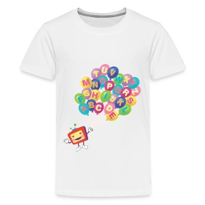 Alphabet Balloon ABCkidTV - Kids' Premium T-Shirt