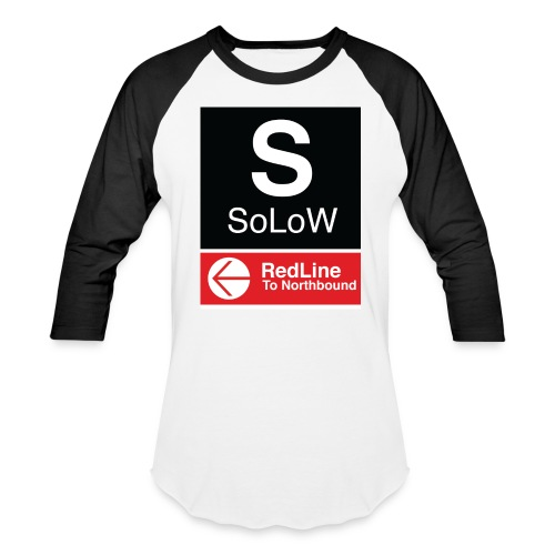 soLoW RedLine Tee W/ Logo - Baseball T-Shirt