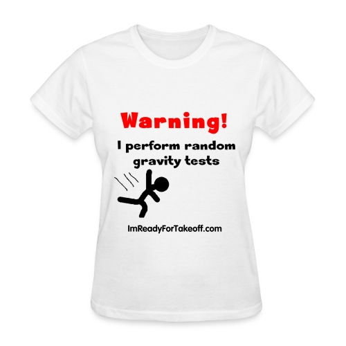 Gravity Tests (women) - Women's T-Shirt
