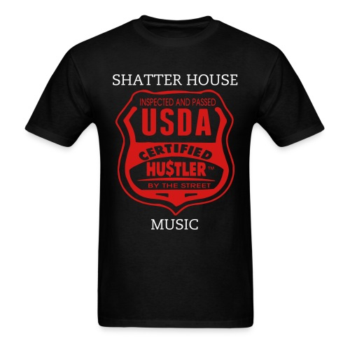 Shatter House Music-USDA - Men's T-Shirt