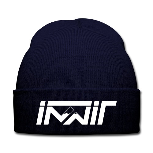 Innit Beanie - Knit Cap with Cuff Print