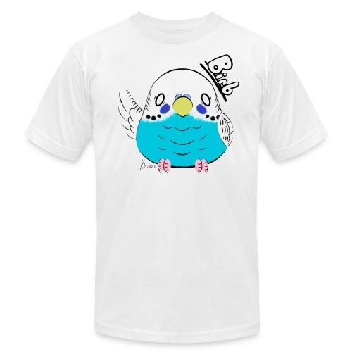 Men's Blue Budgie Birb Shirt - Men's Fine Jersey T-Shirt
