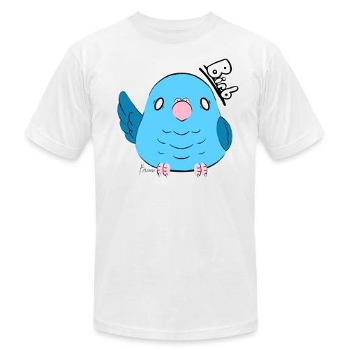Men's Blue Parrotlet Birb Shirt - Men's Fine Jersey T-Shirt