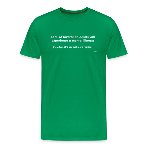 Mental Illness Stats - Men's Premium T-Shirt