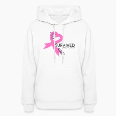 I survived breat cancer2.png Hoodies