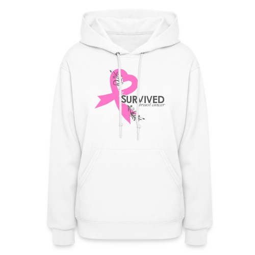 I Survived Breast Caner - Women's Hoodie