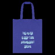 Bags & backpacks ~ Tote Bag ~ deep water turn around