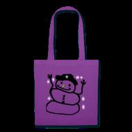 Bags & backpacks ~ Tote Bag ~ Snowman